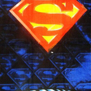 Superman Shield Beach & Bath Towel