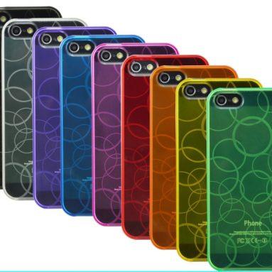 9 x Premium Amzer Circle Cases / Covers for iPhone 5