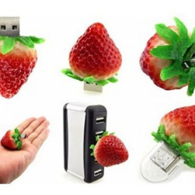 16 GB Food Strawberry USB Flash drive