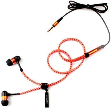 Zip-Style Noise-isolating Earphone with Microphone