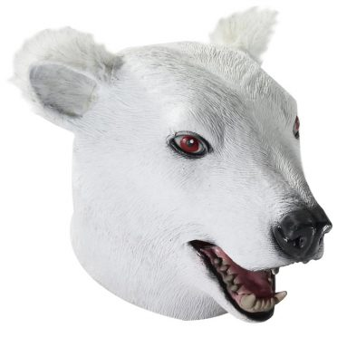 Deluxe Latex Polar Bear Mask