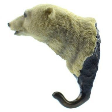 Animal shaped Coat Hat hook hanger Polar Bear