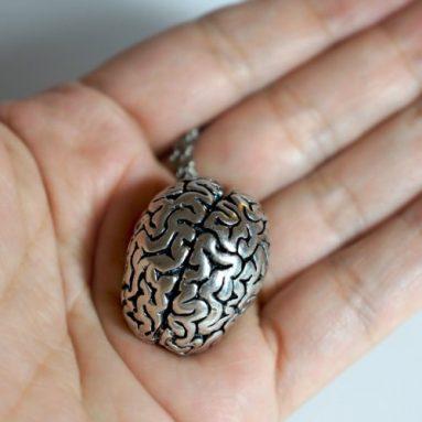 Human Brain Pendant