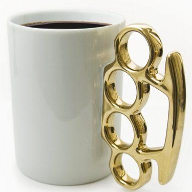 Knuckle Duster Coffee Mugs